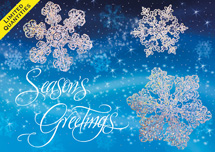 Crystal Clear Holiday Cards